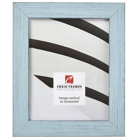 Craig Frames Jasper, Country Sky Blue Picture Frame, 5 x 7 Inch ()