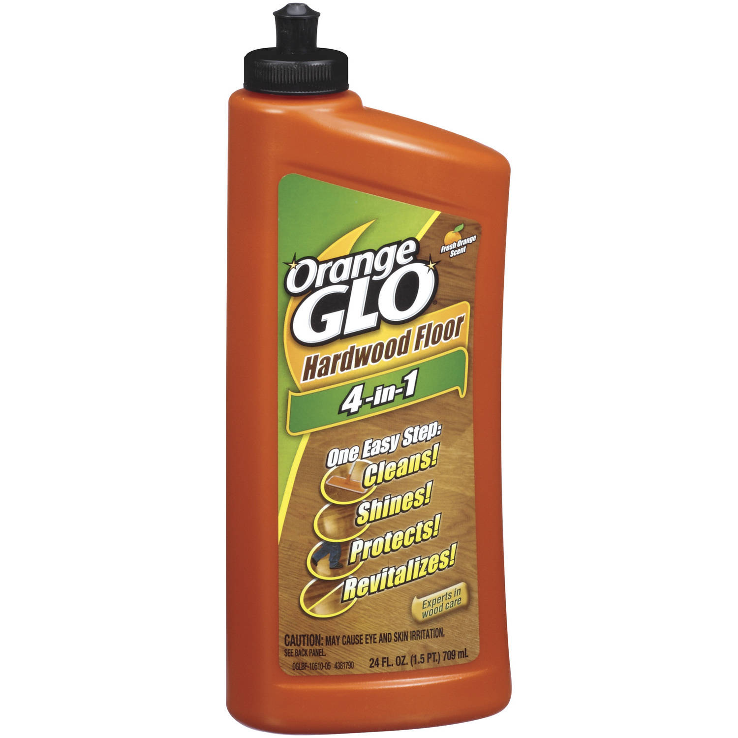 Orange Glo 4-In-1 Hardwood Floor Polish, 24 fl oz