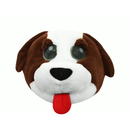 Cute Plush Dog Animal Puppy Overhead Doggy Mask Adult Costume Accessory Funny](Funny Animal Masks)