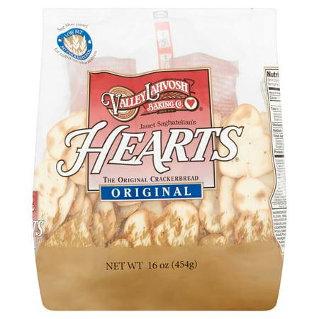 Valley Lahvosh Cracker Heart Orgnl,16 Oz (Pack Of 10) ()