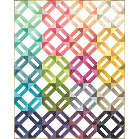 Clearance Sale~Ombre Weave Quilt Pattern - V and Co (Doll Quilt Patterns)