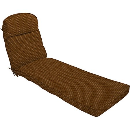 Pebble texture brown chaise lounge cushion for Chaise lounge at walmart