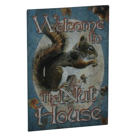 Welcome To The Nut House Humor Comedy Refrigerator Magnet