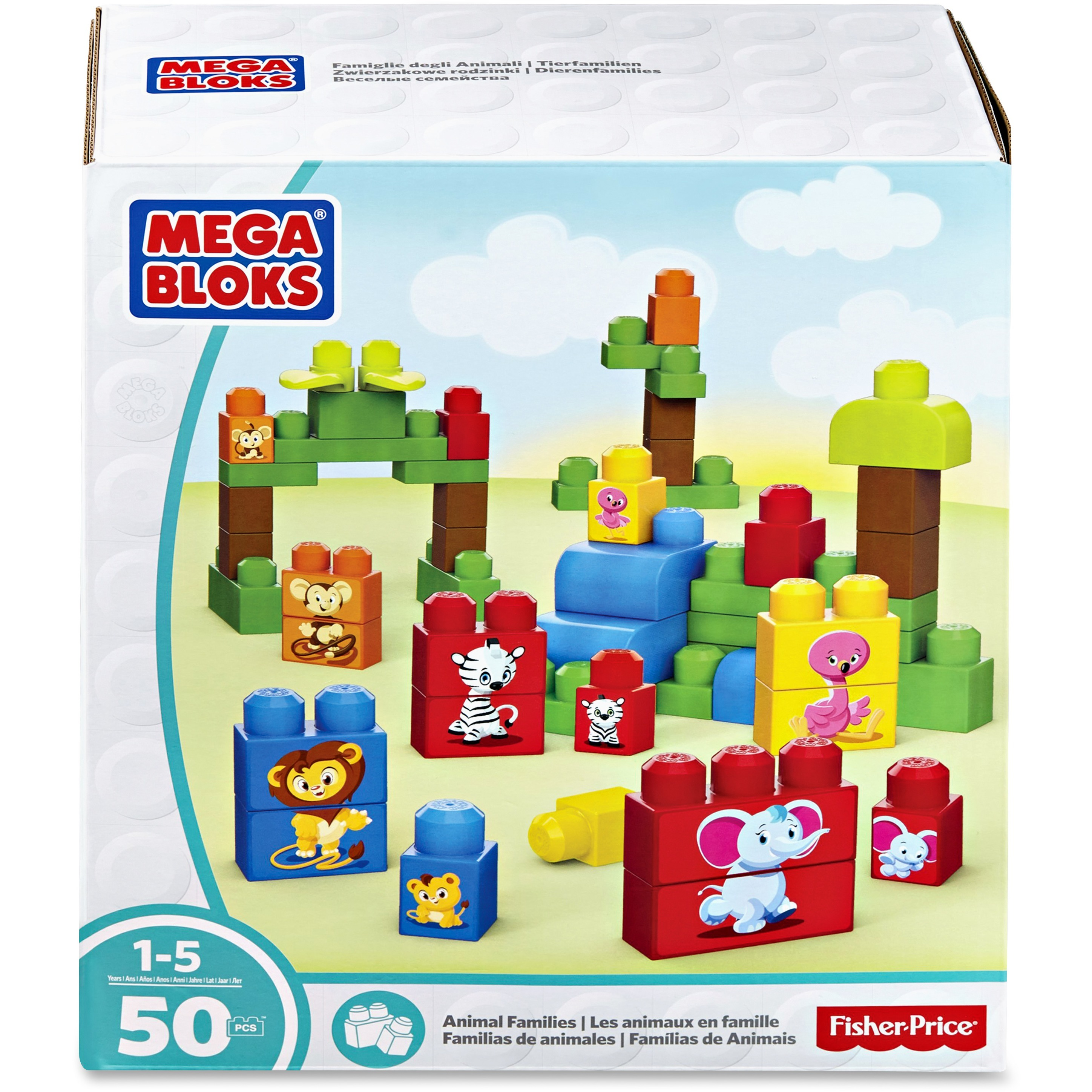 Mega Bloks Animal Families Building Blocks Set by MEGA Brands, Inc