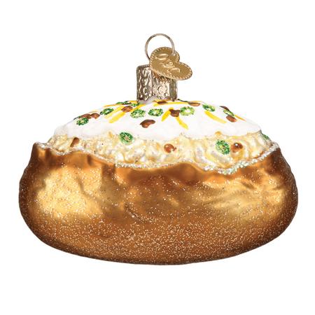 Old World Christmas Baked Potato Glass Tree Ornament 32344 ...