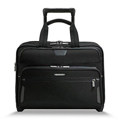 briggs & riley @work large expandable rolling brief