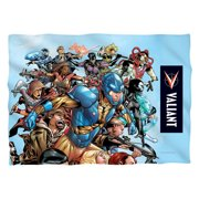 Valiant Group Attack Poly 20X28 Pillow Case White One Size