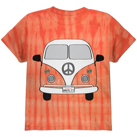 Halloween Travel Bus Costume Camper Wanderlust Youth T Shirt (Camper Costume)