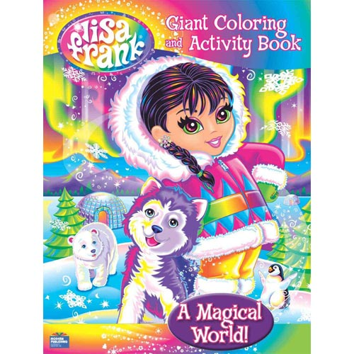 Lisa Frank Giant Coloring - A Magical World!