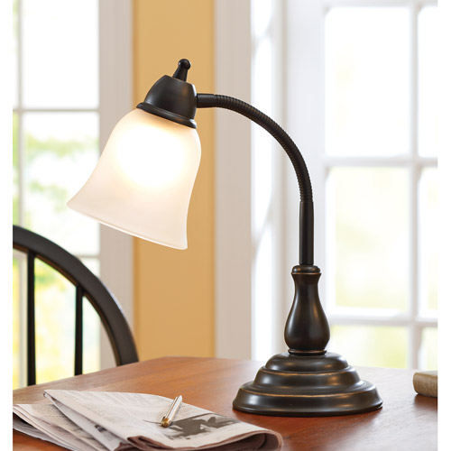 Better Homes And Gardens Desk Lamp, Oil Rubbed Bronze