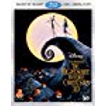 The Nightmare Before Christmas (Three-Disc Combo: Blu-ray 3D / Blu-ray / DVD / Digital - This Is Halloween Nightmare Before Christmas Movie