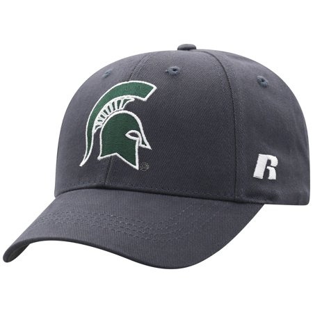 Men's Russell Charcoal Michigan State Spartans Endless Adjustable Hat - OSFA ()