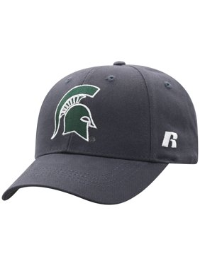 new arrival a8728 e55b6 Product Image Men s Russell Charcoal Michigan State Spartans Endless  Adjustable Hat - OSFA