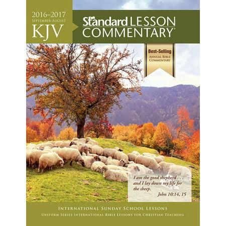 KJV Standard Lesson Commentary - Walmart com
