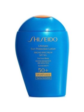 Shiseido Sun Ginza Tokyo Ultimate Sun Protection Lotion SPF 50+, 3.3 Fl Oz