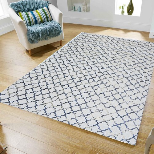 Home Weavers Inc. Double Ruffle Bath Rug