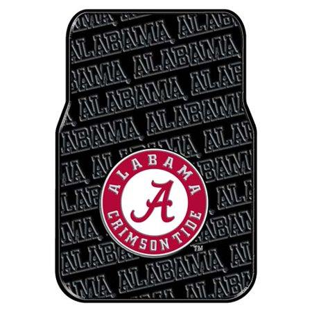 Alabama Set of Rubber Floor Mats