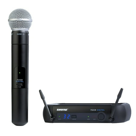 Shure PGX Digital Wireless PGXD24/SM58 - Microphone (Shure Sm58 Dynamic Vocal Microphone)