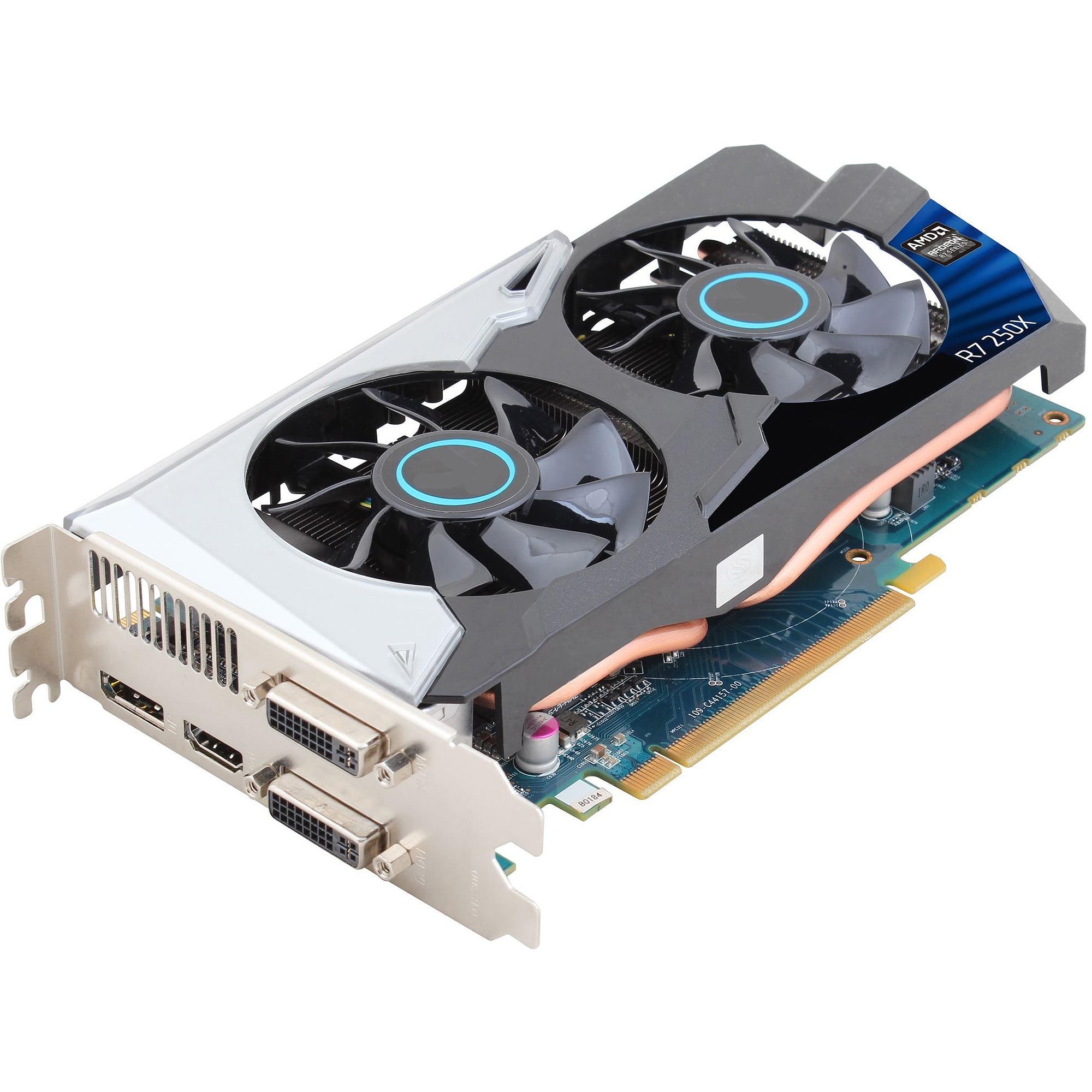 iBUYPOWER AMD Radeon R7-250X 1GB Graphics Card + 400W Power Supply