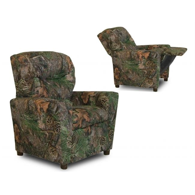 Dozydotes 9755 Children���s Recliner With  Cup Holder - Camouflage