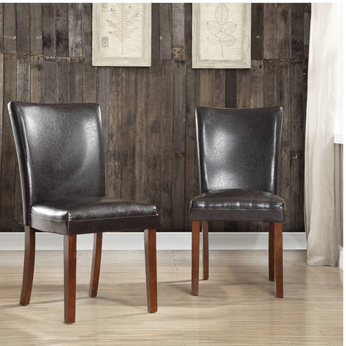 Top Line Kathryn Faux Leather Chair, Set of 2, Multiple Colors