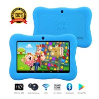 Contixo K3 Education 7 inch Kids Learning Tablet Android 6.0 Bluetooth WiFi Camera for Children Infant Toddlers Kids Parental Control w/Kid-Proof Protective Case (Blue)