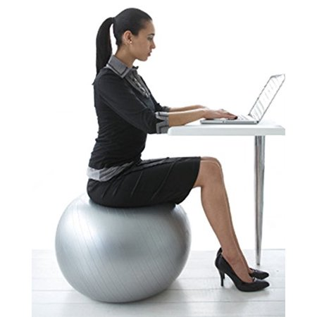 Posture Ball Chair - Physio Ball Chair - Perfect Chair for Office Fitness and Improved Posture