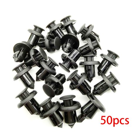 Holiday Time 10mm Automobile Plastic Fastener Clip for Honda Civic Accord CRV Car Bumper Fender Fixed Clips
