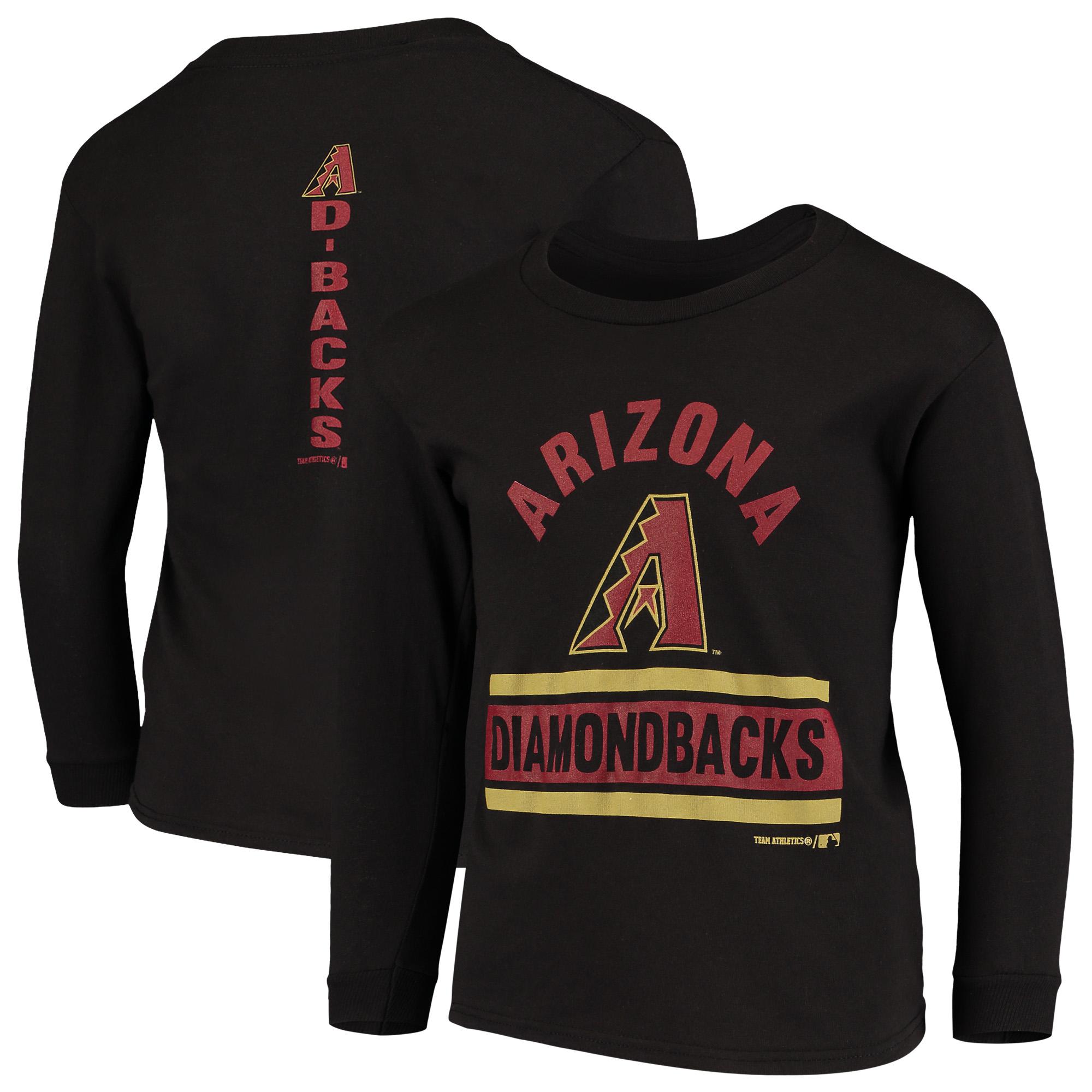 Youth Black Arizona Diamondbacks Basic Long Sleeve T-Shirt