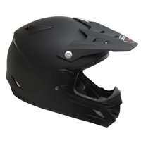 ZOAN 021-020 MX-2 Youth Helmet - Sniper, Small - Matte Black