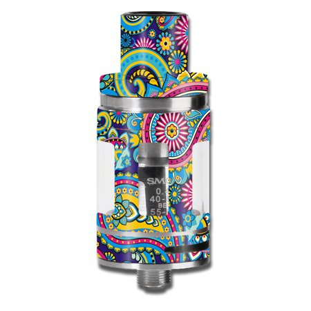- Skins Decals For Smok Micro Tfv8 Baby Beast Vape Mod / Colorful Paisley Mix
