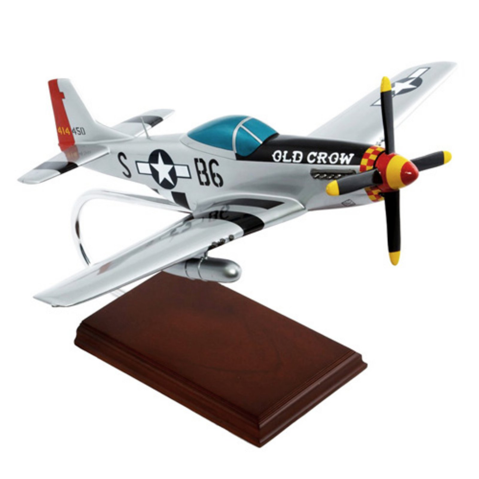 MasterCraft P-51D Mustang Old Crow Model Plane