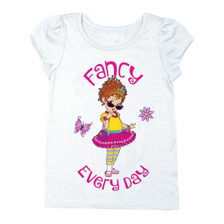 Flutter Sleeve Graphic T-shirt (Toddler - Fancy Girls Top
