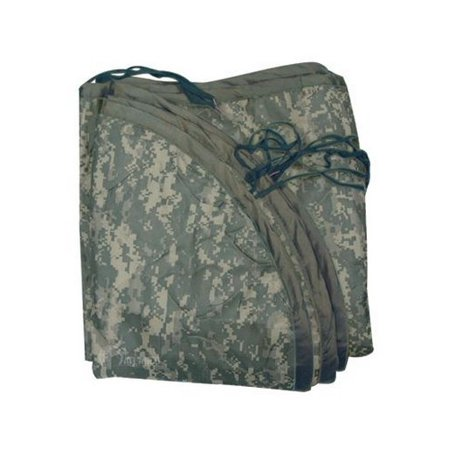 5ive Star Gear 3164000 Men's Army Digital Nylon Military Poncho - Army Poncho Liner
