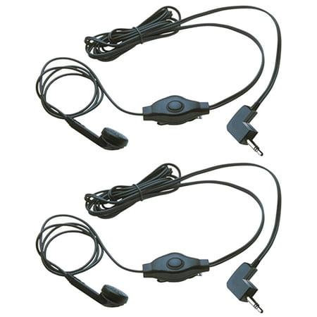 2 Cobra GA-EB M2 Earbud & Microphone MicroTalk Walkie Talkie Headsets,