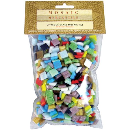 Mosaic Mercantile Crafter'a Cut Mosaic Tiles, 1 lb
