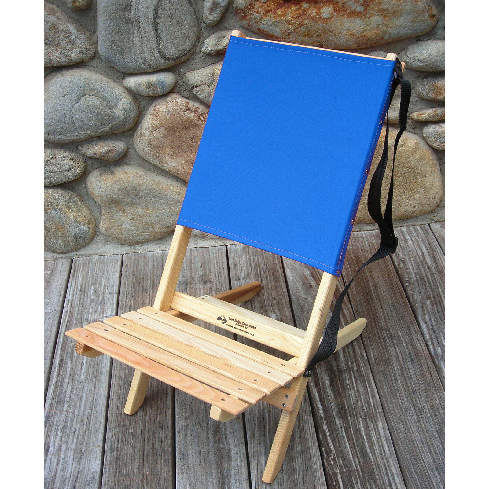 Blue Ridge Low Seat Lawn Chair