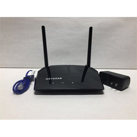 Refurbished NETGEAR AC1200 Dual Band Smart WiFi Router, Fast Ethernet  (R6120)