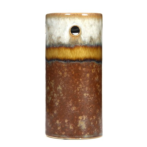 Elegant Expressions by Hosley Ceramic Fragrance Oil Warmer, Brown