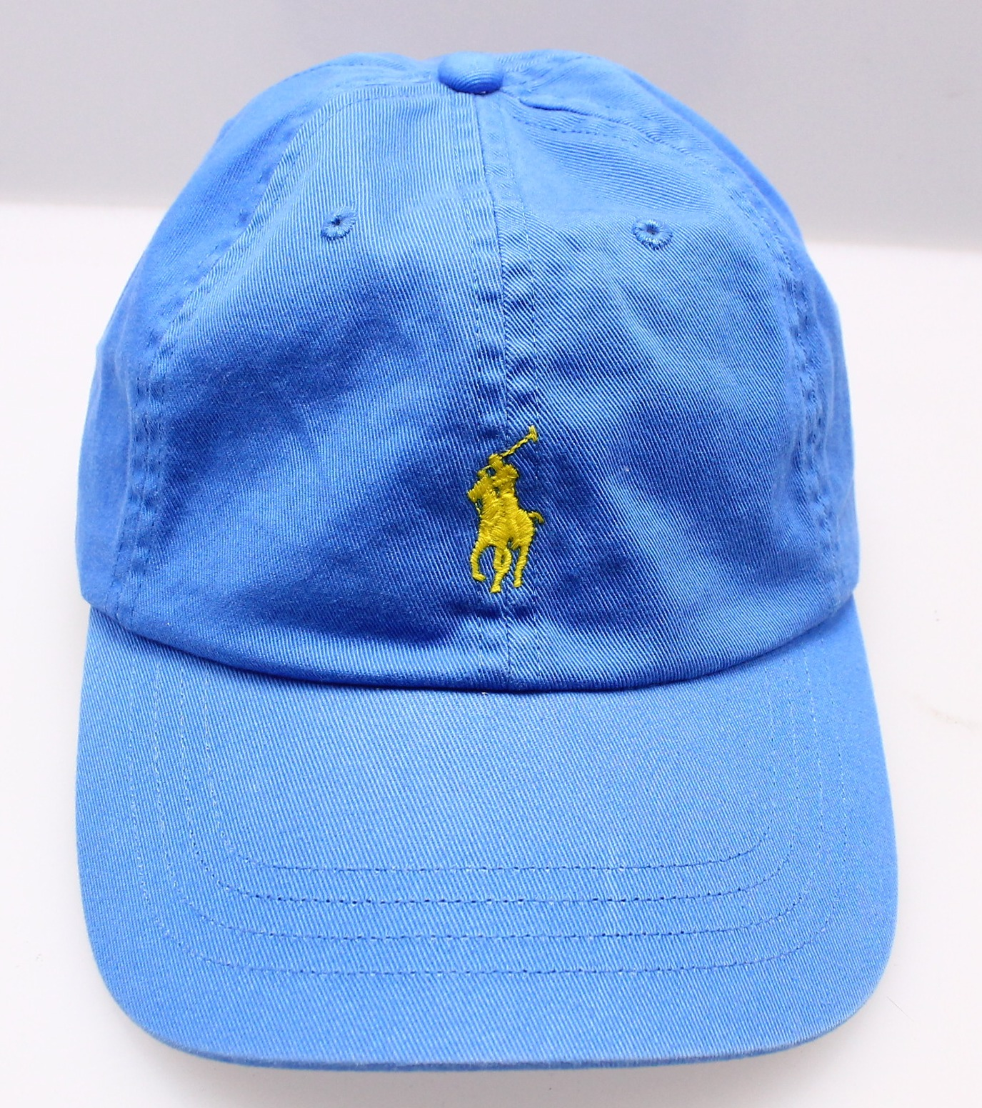 9833011f322eeb ... closeout product image polo ralph lauren new blue mens adjustable one  size baseball cap hat 99424