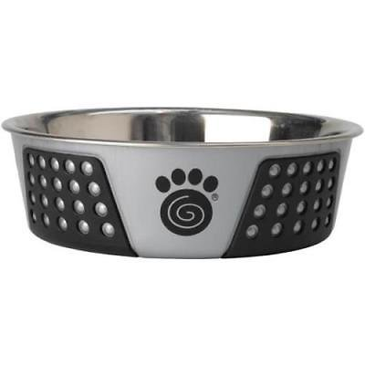 Pet Rageous Designs Natural & Black 6-Cup Chasing Dogs Pet Bowl Designs Pet Bowl