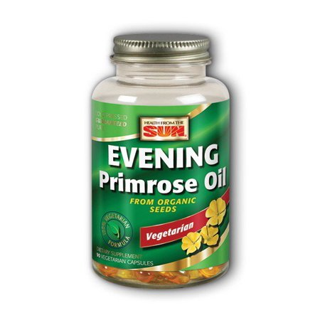 3d257213ab0c 100% Vegetarian Evening Primrose Oil Health From The Sun 90 Veg Softgel -  Walmart.com