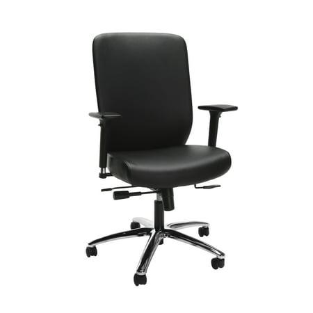 HON High-Back Executive Chair with Synchro-Tilt Control, in Black (HVL722) Back Synchro Tilt Chair