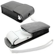 Snugg Black Leather Galaxy Smart Camera Case