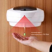 Ccdes Liquid Dispenser,500ml Automatic Sanitizer Soap Dispenser Sensor Touchless Hands Free Wall Mounted, Bathroom Soap Dispenser