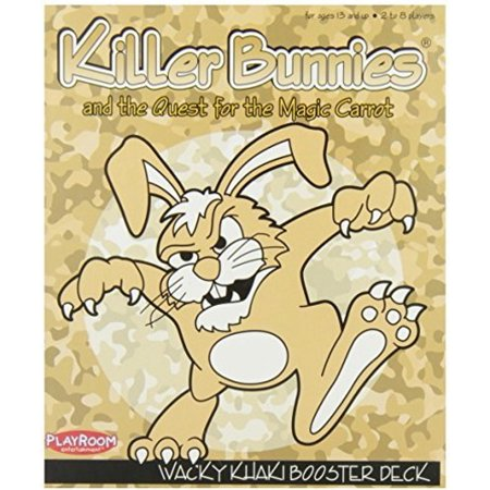 - Killer Bunnies: Quest for theMagic Carrot - WackyKhaki Booster Deck