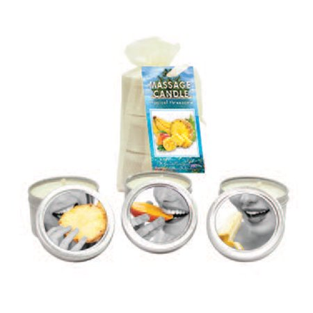 - Earthly Body Edible Massage Candle Trio