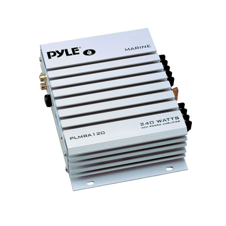 Pyle 2 Channel 240 Watt Marine Amplifier