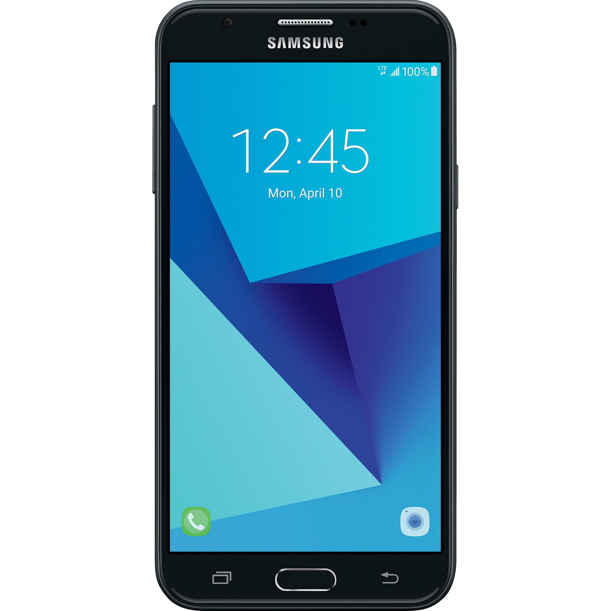 Total Wireless Samsung J7 Sky Pro 16GB Prepaid Smartphone, Black