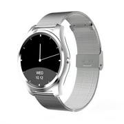 DI03 Bluetooth Siri Smart watch MTK2502C 128MB+64MB 1.15cm Ultra-thin IP67 Heart Rate Monitor